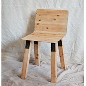 Silla de madera de 42x48x72.5cm