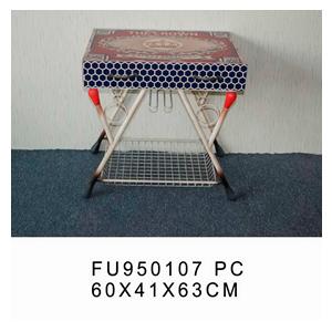 Mesa diseño caja de fósforos y patas diseño fósforos de 60x41x63cm