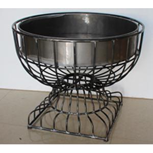 Maceta de alabron diseño copa de 89x89x72cm