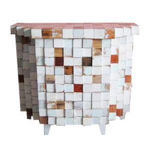 Coqueta de madera diseño cuadros de madera de