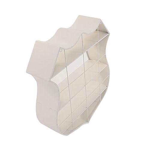 Mueble de pared con entrepaños diseño Placa de Ruta 66 de 55x60x15cm