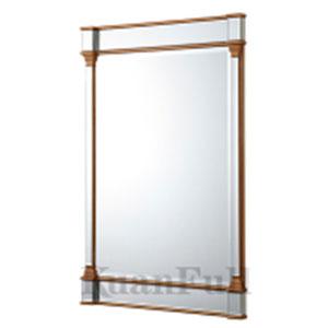 Espejo c/ marco de madera 120x80x45cm