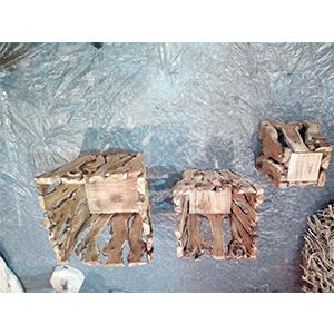 Canasta de madera 35x30x10cm