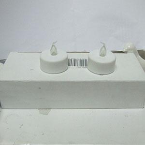 Paquete de 2 velas T-Light con batería de 4x3.8cm