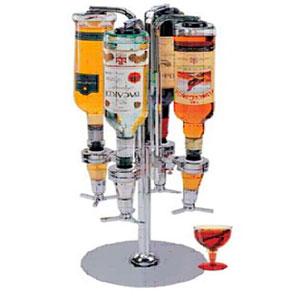 Despachador de bebidas para 4 botellas