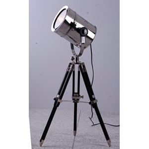 Lámpara de piso diseño reflector de cine