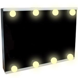 Pizarrón rectangular con luz led de Baterías AA