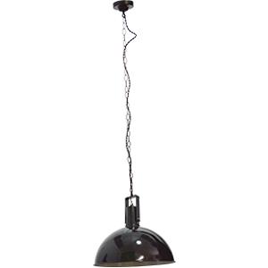 Lámpara de techo negra diseño cacerola de 105cmx51dm