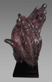 Escultura de manos