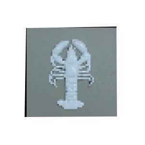 Decoración de Langosta diseño de piedra de 40x40x5cm