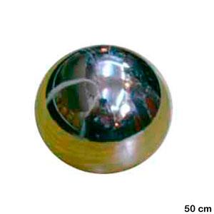 Bolas de acero inoxidable de 50cm