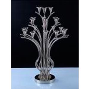 Candelabro de metal diseño árbol para 21 velas de 66x66x108cm