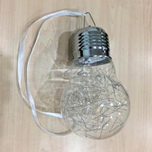 Foco con serie de luz led (usa baterias AAA) de 15x25cm