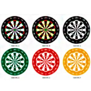 Juego de 6 portavasos diseño Ruleta Rusa en diferentes colores de 10cm