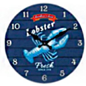 Reloj de pared diseño Langosta de 30cm
