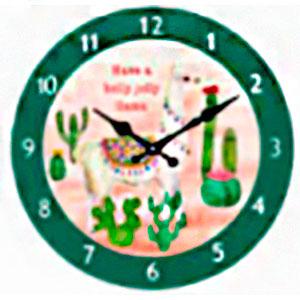 Reloj de pared diseño Caballo y nopales de 30cm