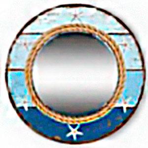 Espejo de pared diseño marino de 60cm