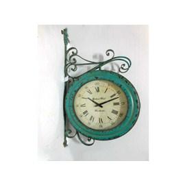 Reloj de pared  estilo estación de trenes 55.5x10x102.5cm