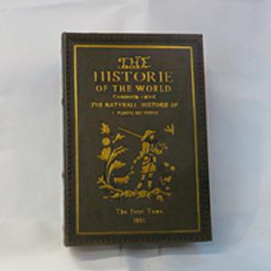 Caja portalibros diseño Portada de libro en color verde de 30x21x7cm