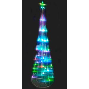Arbol con luz led de 210x70x14cm