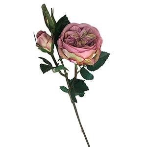Vara de Rosas c/boton color mauve
