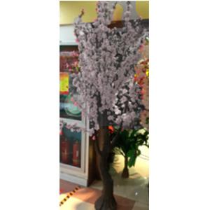 Arbol de flores de durazno blancas de 1.40x2.30m