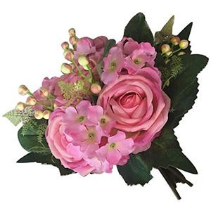 Ramo de Rosas rosas con follaje