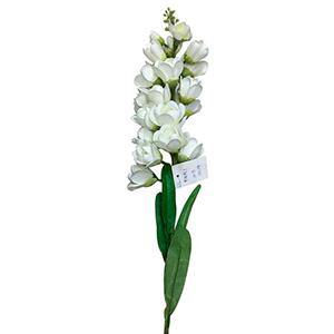 Vara con flor blanca