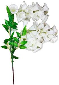 Vara con flores de campanitas blancas
