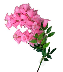 Vara con flores de campanitas rosas