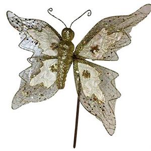 Pick de mariposa dorada