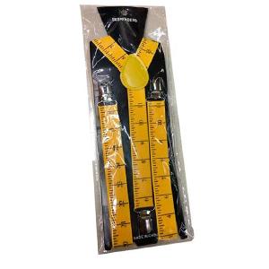 Tirantes diseño cinta metrica amarilla