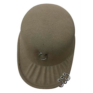 Gorra color beige
