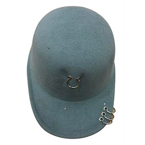 Gorra color gris