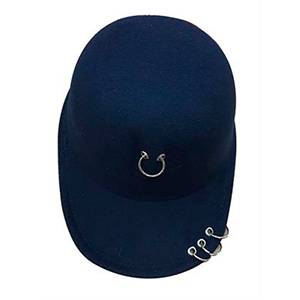 Gorra color azul marino