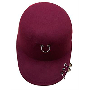 Gorra color vino