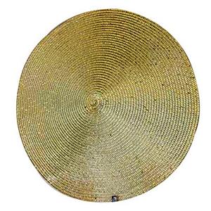 Mantel individual dorado de 36 cm