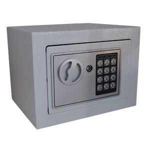 Caja fuerte con cerradura digital blanca de 170x230x170cm