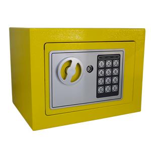 Caja fuerte con cerradura digital amarilla de 170x230x170cm