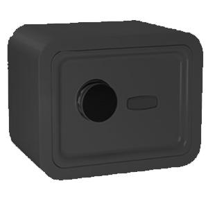 Caja fuerte con cerradura digital negra de 380x380x300cm