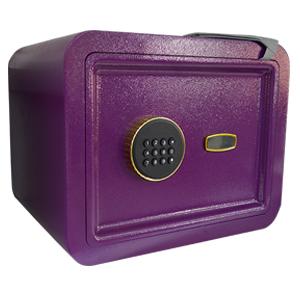 Caja fuerte con cerradura de huella digital morada de 380x380x300cm