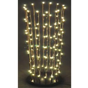 Lampara de mesa con luz led de 60cm
