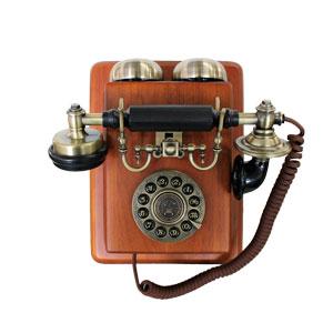 Teléfono vintage de pared