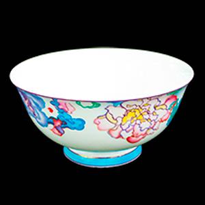 Bowl de procelana diseño flores