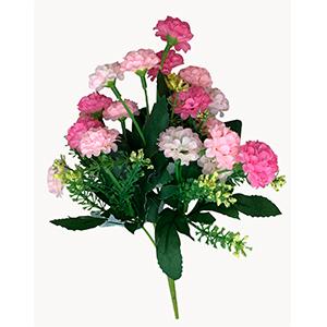 Ramo de flores rosas con blanco