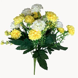 Ramo de flores amarillas y blancas