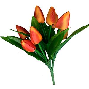 Ramo de Tulipanes naranjas