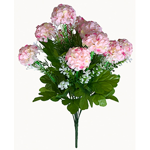 Ramo de Hortensias rosas