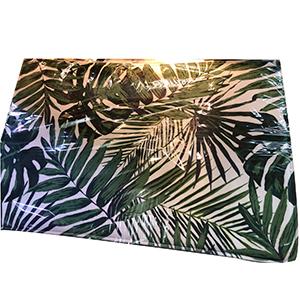 Tapete de entrada diseño hojas de 40x60cm