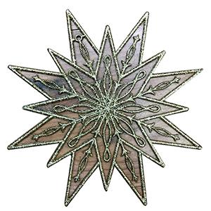 Colgije diseño Estrella dorada